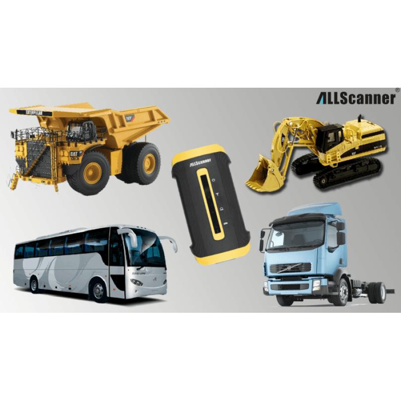 VCX (allscanner) HD Heavy Duty Truck